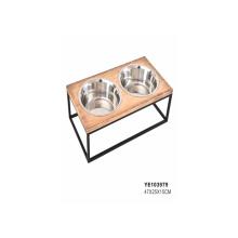 Pet Wholesale New Design 2021 New Custom Stainless Steel Dog Food Bowl