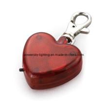 Lumière d'avertissement de sécurité en forme de coeur (17-1X0818)