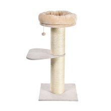New arrival modern cheap wood cat tree houses