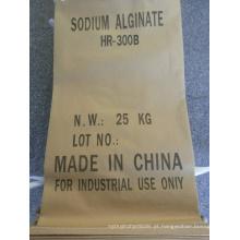Alginato de sódio (grau alimentar, grau industrial)