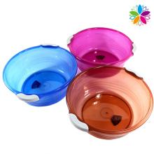 Crystal Fashion Plastic Round Washing Basin (SLP043)