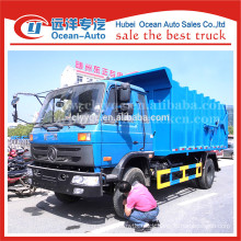 2015 new condition dongfeng garbage truck 14 m3