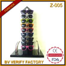 Z-005 2016 новейших выпустила картон 100% DIY дисплей для сменных храмов солнцезащитные очки мерчандайзинга в Вэньчжоу