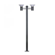 7W High Bright Solar Gartenleuchte Match Pole