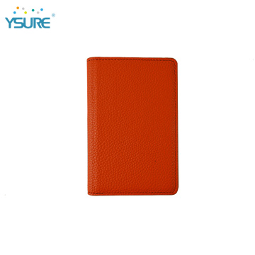 Ysure Custom Leather Business pasaporte titular de la tarjeta de crédito