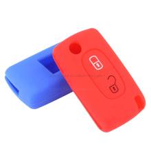 Custom Logo Dustproof Silicone Rubber Car Key Cover