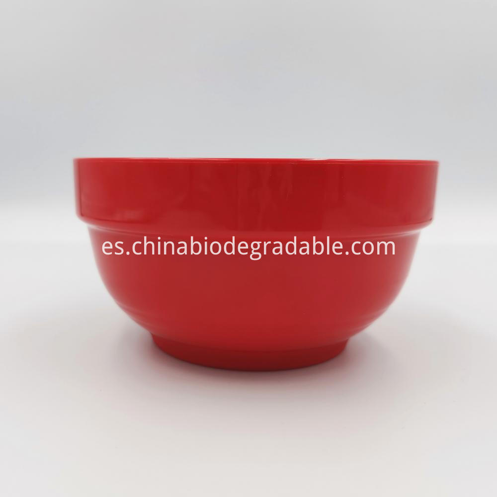 Compostable Nonfragrant Tableware Dinner Bowl