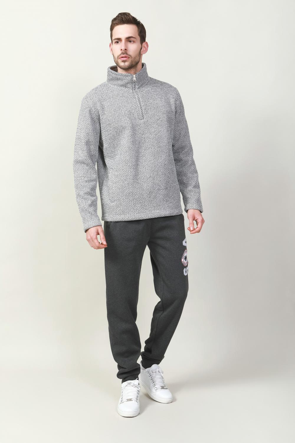 Men's bonded fleece in weight 400gsm pullover Jacket