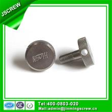 Винты Винты M4 из нержавеющей стали с накатанной головкой