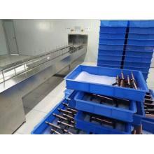 Máquina de pintura automatizada caja móvil