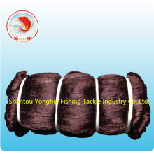 Nylon Multfilament Fishing Net with Brown Color
