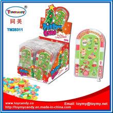 Weihnachten Handheld Board Pinball Spiel Spielzeug mit Süßigkeiten
