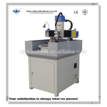Small metal engraver machine cnc router of 400*400mm size and Servo motor