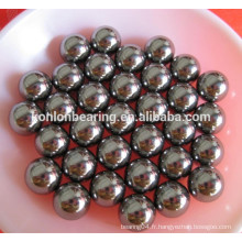 """AISI316 AISI304 AISI440 AISI420 Boules en acier 15/32 """"boules en acier inoxydable 15/64"""""""