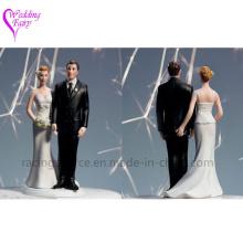 Hohe Qualität Die Liebe Pinch Braut Paar Figur Kaukasischen Paar Hochzeit Kuchen Topper