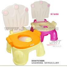высокое качество пластиковых детей Туалет плесени стали плесени Заводская цена
