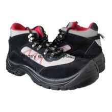Sport décontracté Style daim & Oxford tissu chaussures de sécurité (HQ03032)