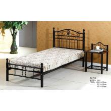 Black Metal Comfortable Simple Bed (618 #)