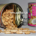 Gebratene und gesalzene Erdnüsse zum Verkauf