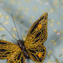 Счастливой пасхи с бабочками