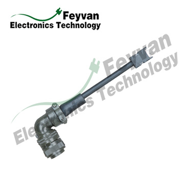 Custom Servo Cable Assembly for MITSUBISHI Servo System