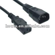Enchufe macho del cable de alimentación de 125V AC