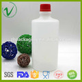OEM design HDPE round vazio plástico garrafa produtos químicos