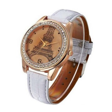Fashion European Style Leather Band Watch
