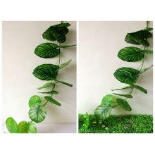 tige de feuille artificielle décorative extérieure et intérieure