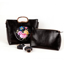 Hombro Lady Hand Embroidery Handbag