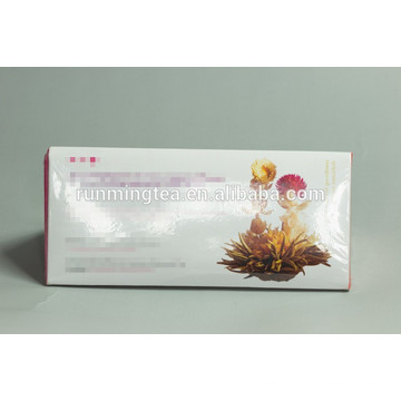 Customized gift box packaging box blooming tea boxes