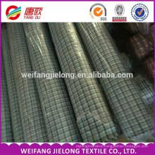 China Wholesale Cheap Bulk 100% Cotton Yarn Dyed Plaid Shirting Fabric and Textile fabric stock