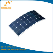 100W Mono Flexible Solar Power Panel