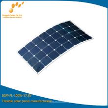 Novo carregador de bateria solar flexível projetado para fabricantes de China