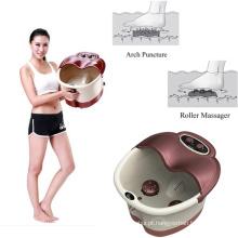 Compressa do calor da punção do arco da massagem do rolo da cuba da massagem do pé