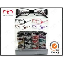 Vidrios de lectura vendedores calientes de moda de Disply Eyewear (MRP21676)