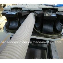 Пластиковые машины/ПЭ/PP двойной стены гофрированных труб Экструзионная линия
