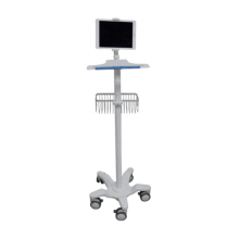 MT MEDICAL ultrasound scanner Stand For Ipad laptop Medical Computer Workstation trolley
