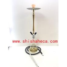 Top qualité en gros en aluminium Narguilé Fumer Shisha Narguilé