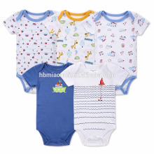 Printed cartoon baby kid summer clothes wholesale baby jumpsuit romper
