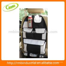 Car assento traseiro saco / organizador; Assento traseiro armazenamento suspenso com suporte de CD