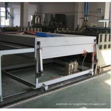 Línea de producción de CE/SGS/ISO9001 del PVC WPC puerta tablero