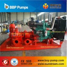 1250gpm, pompe à eau centrifuge de lutte contre l'incendie de 12 barres de pression
