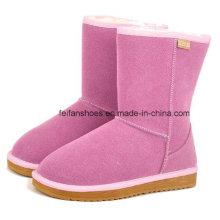 OEM hohe Qualität warm und bequem Winter Schuhe Schnee Stiefel für Frauen (FF93-1)