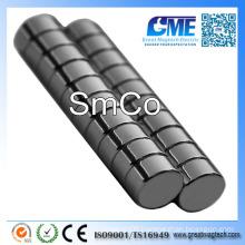 """D1/4""""X1/8"""" Disc SmCo Samarium Cobalt Magnet"""