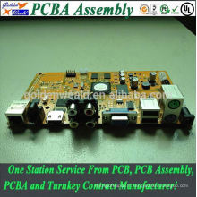 Cem-3 carte PCB assemblé avec des relais utilisés pour le contrôle industriel PCB rapide pcb prototype pcba pour l'électronique