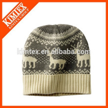 2015 Jacquard knit beanie hat