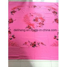 Многократное использование T / C 50/50 павлин дизайн печатных 777 Bed Sheet