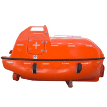 totally enclosed life boat marine freefall lifeboat solas life boat FRP 30 persons lifeboat