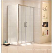 Cuadrado forma de aluminio marco simple ducha (c20)